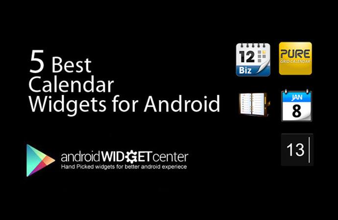 Calendar-Widgets