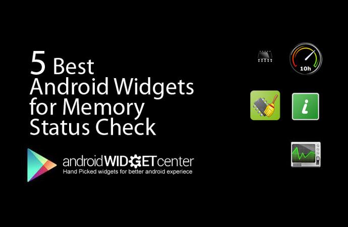 Memory-Status-Widgets