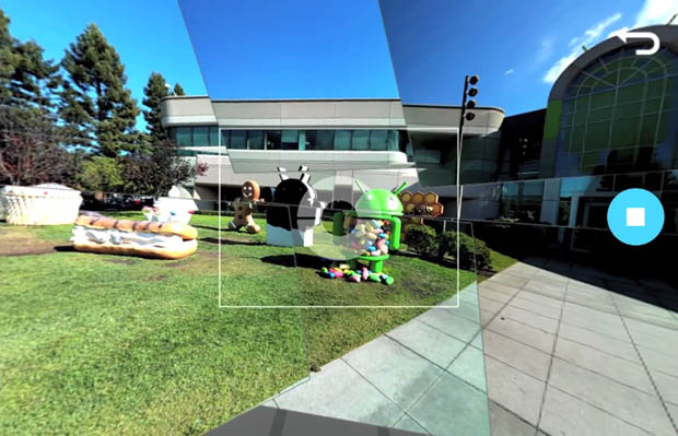 Create 360 degree photos with PhotoSphere in Jelly Bean