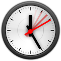 Animated Analog Clock Widget