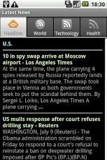 LatestNews Google News Reader