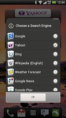 Quick Search Widget