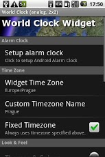 World Clock Widget