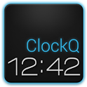 ClockQ Digital Clock Widget