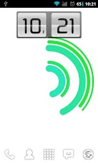 Android Animating Flip Clock Widget