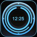 Digital Clock Disc Widget