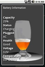 Android Free Beer Battery Widget
