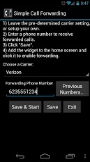 Simple Call Forwarding