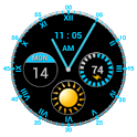 Android Super Clock Widget