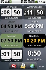 World Clock Widget Pro