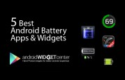 Android Battery Widgets
