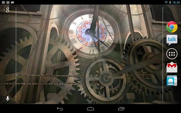Android Clock Live WallPaper 2
