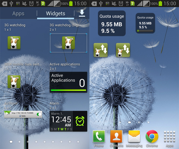 3G Watchdog for Android