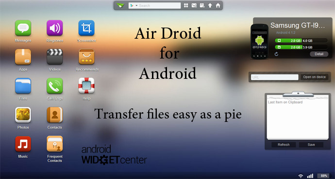 Air Droid for Android