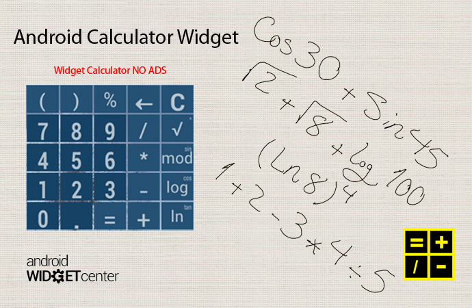 Android-Calculator-Widget
