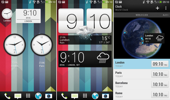 HTC-One-Default-Clock-Widgets