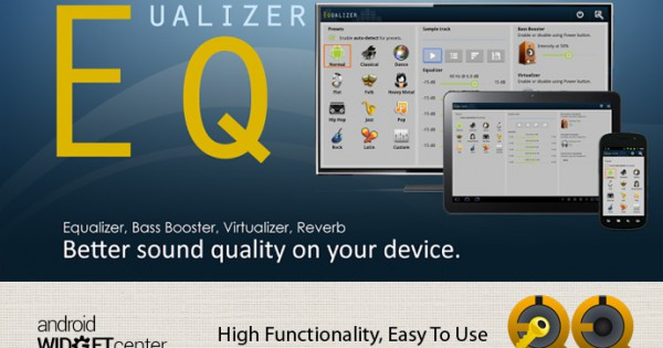 Android Equalizer App and Widget   AW Center