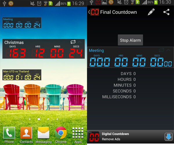 Countdown-for-Android