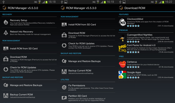 ROM-Manager-for-Android