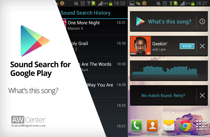 how to use google play music as shazam