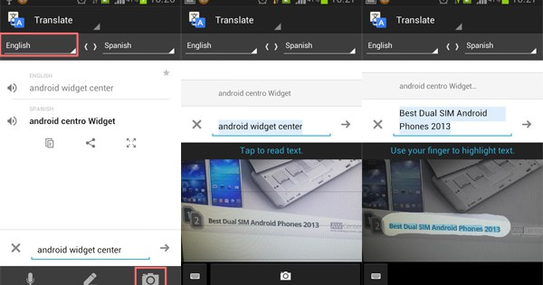 English To Italian Translator Google: How To Translate Text In A Picture On Android