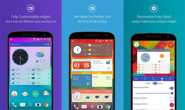 01 Best Android Clock Widgets Unique