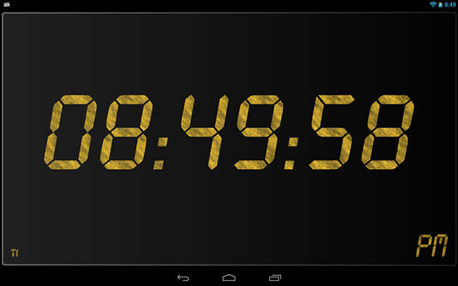 05-Best-Android-Clock-Widgets-24-Clock-Widget
