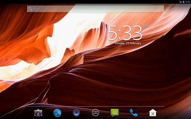 06-Best-Android-Clock-Widgets-Digital-Clock-Widget-Xperia