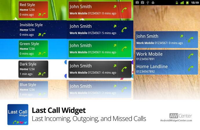 Last-Call-Widget