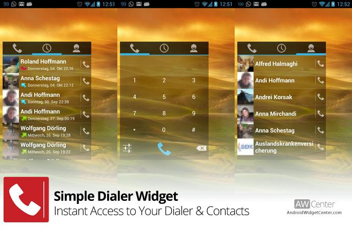 Simple-Dialer-Widget