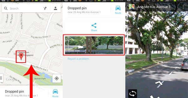 How To Enable Street View In Google Maps Android Aw Center