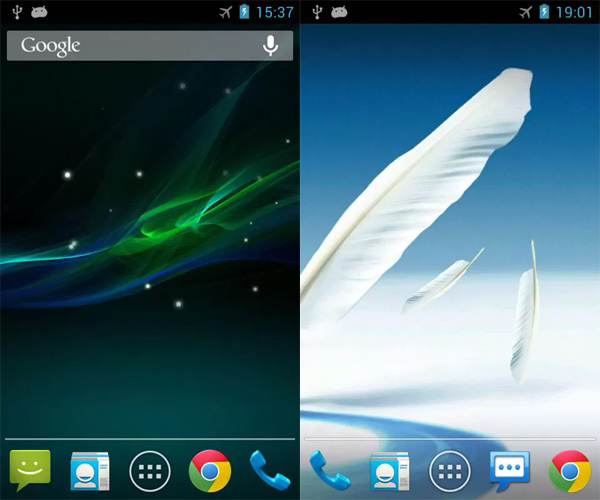 Xperia Z Live Wallpaper Galaxy S4