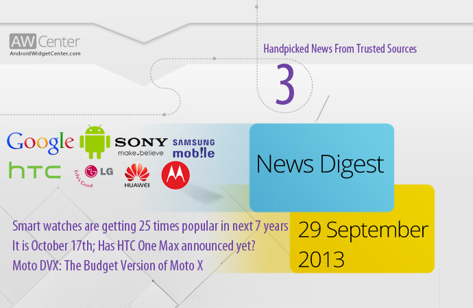 Android News 29 Sep