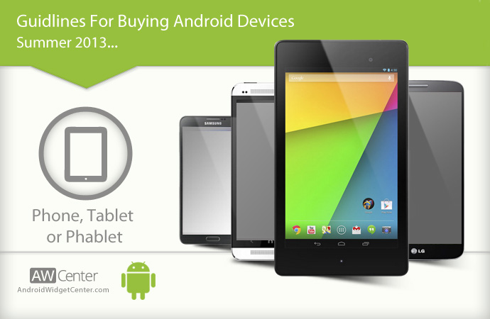 Android Phone, Tablet, or Phablet