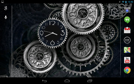Black-Clock-LiveWallpaper