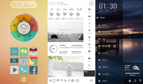 Buzz launcher review it is just awesome aw center for Wallpaper home launcher