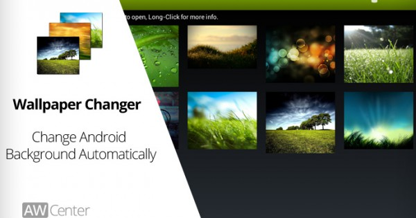 Change Android Background Automatically