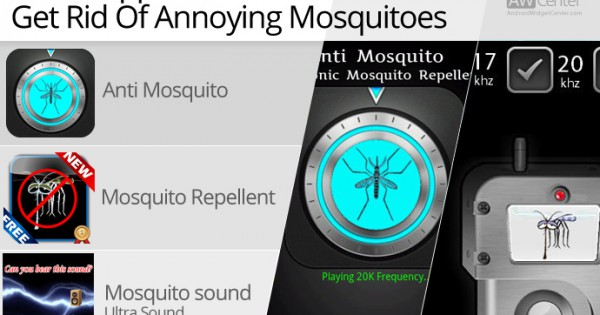 How to get rid of mosquitoes on android with repellent Ways to get rid of mosquitoes in your house