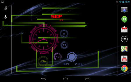 Neon-Clock-GL-Live-wallpaper