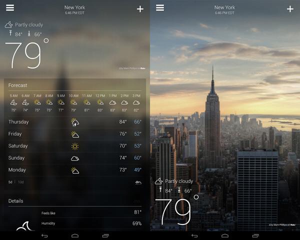 Yahoo!-Weather