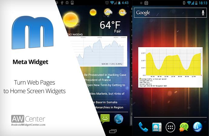 Android-Meta-Widget