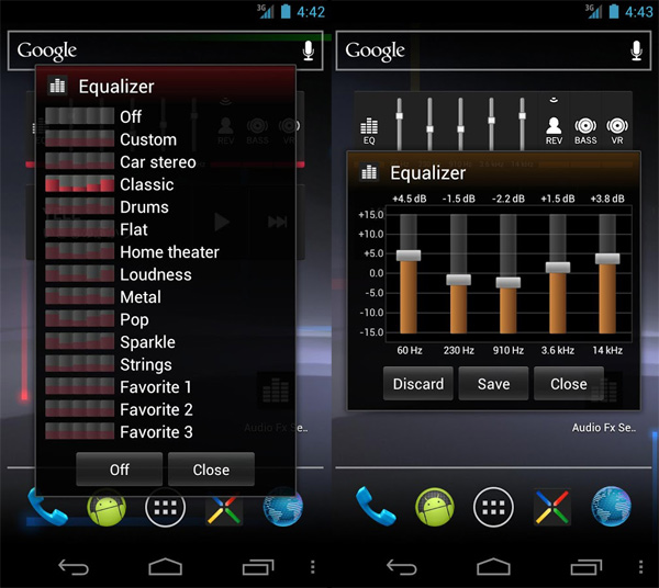 Audio-Fx-Widget