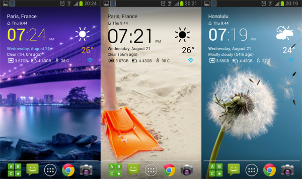 Download Weather & Clock Widget Android Ad Free APK Full File 4 1 1