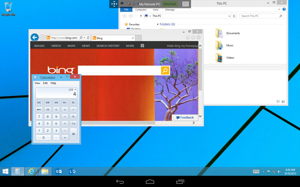 Remote-Desktop-on-Android