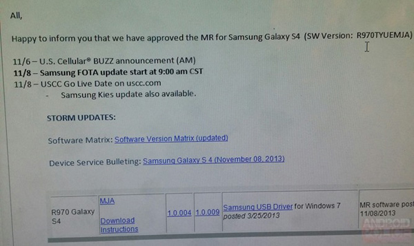 US-Cellular-Galaxy-S4-Update