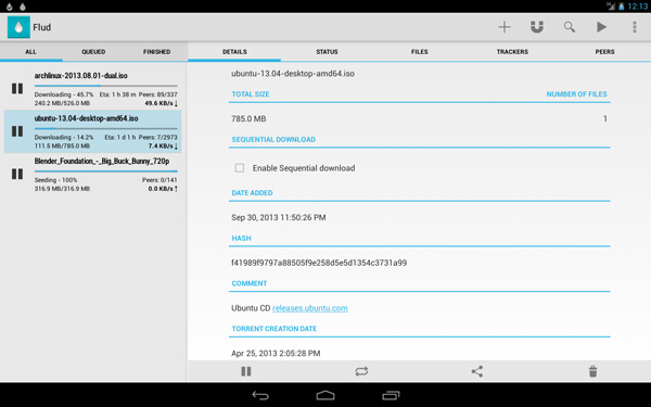 torrent download movies for android