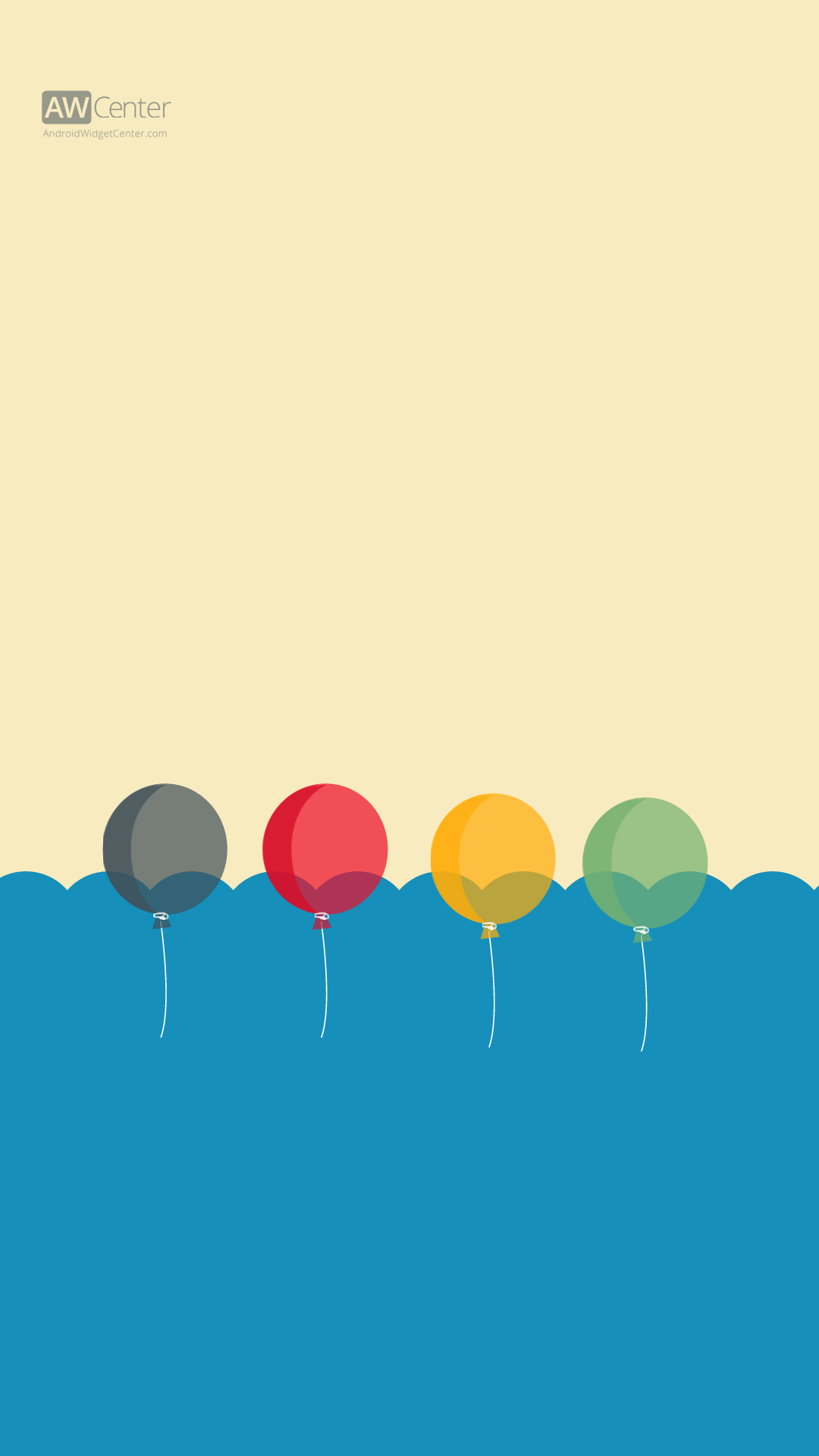 1 android hd wallpaper balloons