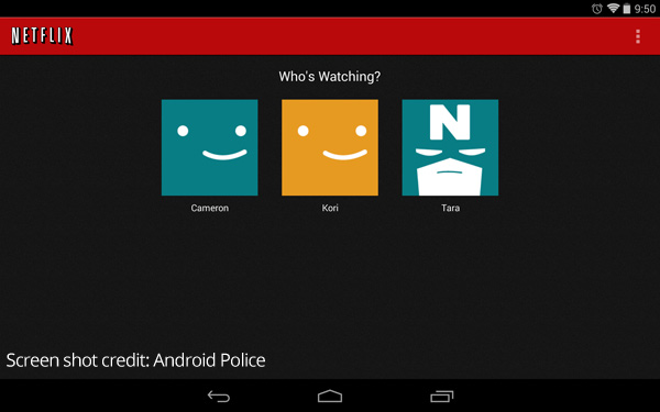 Android Netflix App Finally Supports Profiles Aw Center