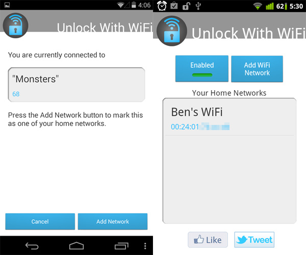 Unlock-With-WiFi-Home