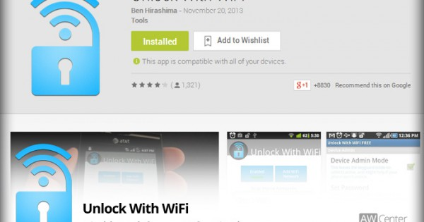Unlock your Android Automatically at Certain Locations   AW